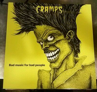 THE CRAMPS BAD Music for bad People vinyl