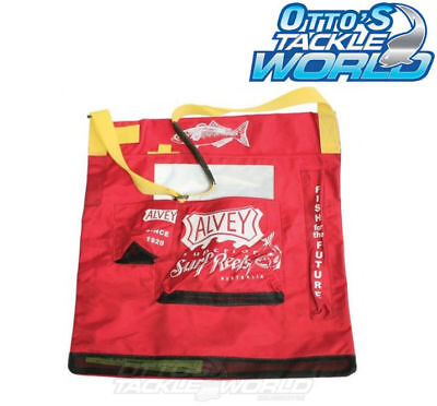 Alvey Premium Wading Bag Heavy Duty Red BRAND NEW at Otto's Tackle World