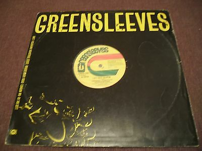 """Gregory Issacs & Dennis Brown - Let off Supm - 1985 12"""" EP Greensleeves Records"""