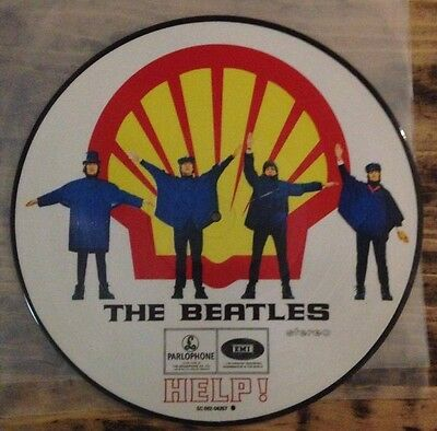 BEATLES  HELP picture disc