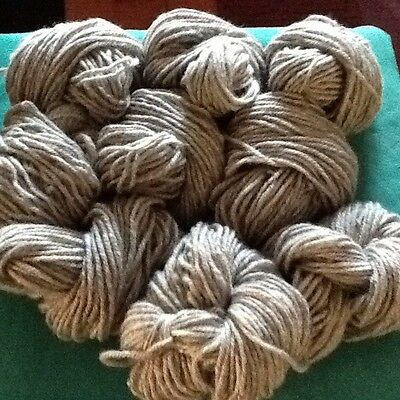 Knitting Wool Grey In Colour 0.8 Kg