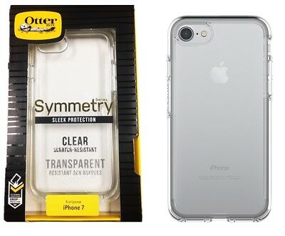 Otterbox Symmetry Series Case Cover For Apple iPhone 8 iPhone 7 Crystal Clear