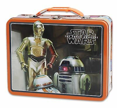 New Droids Star Wars Large Embossed Tin Lunch Box