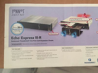 Sonnet - Echo Express Iii-R Thunderbolt 2-To-Pcie Card Expansion