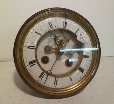 French Open Escapement Japy Feres 8 Day Time and Strike Clock Movement