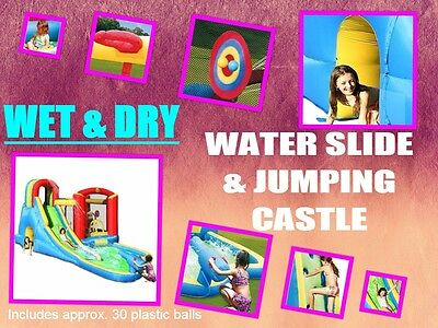 Original Happy Hop Jumping Castle and Water Slide (PICK UP AVAILABLE )