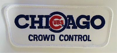 "Chicago ""cubs"" Crowd Control"