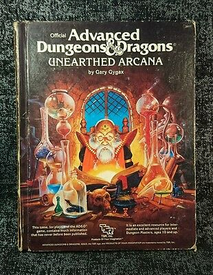 Advanced D & D - Unearthed Arcana, by Gary Gygax (1985)