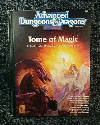 Advanced D & D 2nd Edition - Tome of Magic