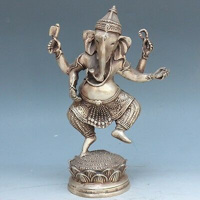 Exquisite Chinese bronze hand carved Elephant statue