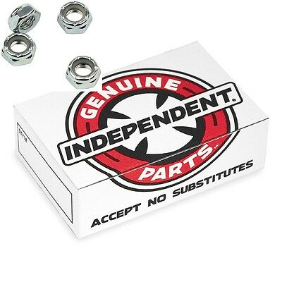 Independent Axle Nuts Genuine Parts Bulk Box Of 48 pcs  for Skateboard Trucks