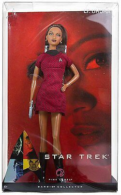 Star Trek Lt. Uhura Barbie, Red & Black Dress - FAST SHIP, NEW & SEALED!