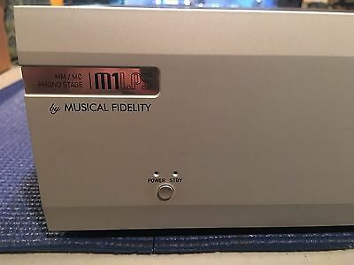 Musical Fidelity M1LPS MM/MC Phono Preamp AUDIOPHILE - A+ Shape!