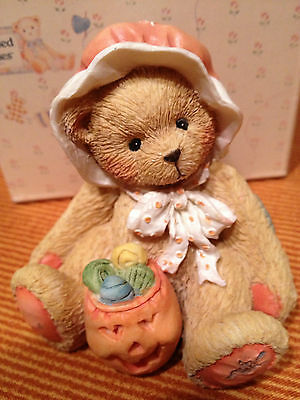 "CONNIE ~ ""You're a sweet treat"" 1993  ~ RETIRED HALLOWEEN  Cherished Teddies"
