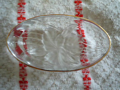 Lovely vintage Glass Dish