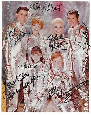 Lost In Space Cast Reprint Autographed Signed Picture Photo Auto Collectible Rp