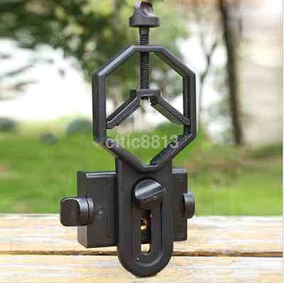1pc Durable Telescope Cell Phone Mount Adapter for Monocular Spotting Scope AU