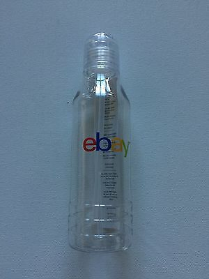 NEW eBay Clear Water Bottle SWAG *20th Anniversary Celebration* 20 oz H2Go HTF