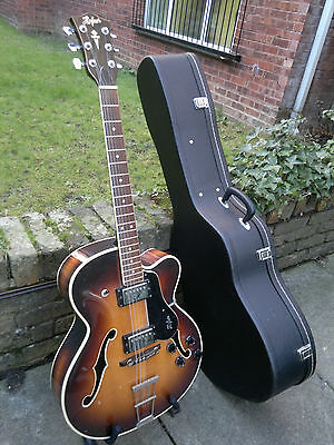 Hofner President 457/E2 archtop guitar (vintage - late 70s, early 80s)