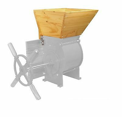 Fruit Wine Press Home Apple Hopper Accessory Crusher Countertop Solid Wood New