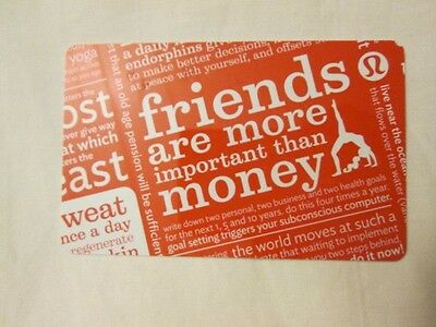 Lululemon $108 Gift Card! No Expiration! Free Fast Shipping! Trusted Seller!