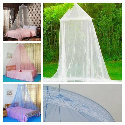 Elegant Round Lace Insect Bed Canopy Netting Curtain Dome Mosquito Net nice @#