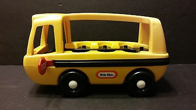 Vintage LITTLE TIKES School Bus - Yellow Made in USA