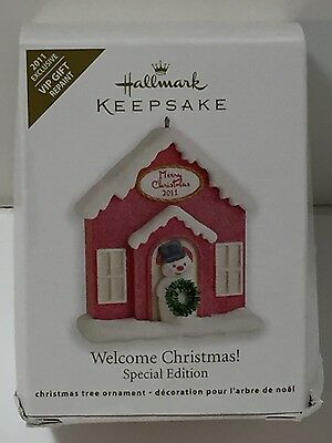 New 2011 Hallmark Special Edition Vip Keepsake Christmas Ornament