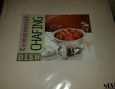 4 QUART COMMERCIAL CHAFING DISH Brand new....