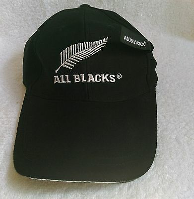 All Blacks New Zealand union Rugby team hat cap  (Child  / Small  / Youth)
