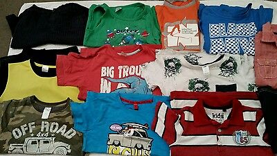 12 Items Of Boys Clothing Size 6
