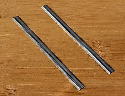 2 K20 TCT POWER PLANER BLADES REVERSIBLE 82mm 80mm FIT ALL MAKES OF PLANE TREND
