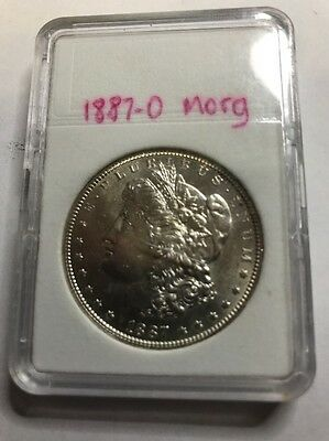 1887 $1 American Morgan One Dollar Coin - .999 Bullion United States America Usa
