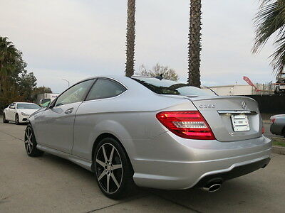 2015 Mercedes-Benz C-Class Base Coupe 2-Door 2015 Mercedes c250 coupe Loaded Low Miles damaged rebuildable salvage wrecked 15