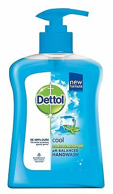 Dettol Liquid Soap Cool Pump  Healthy And Provide A Cooling  Refreshed 250 ml