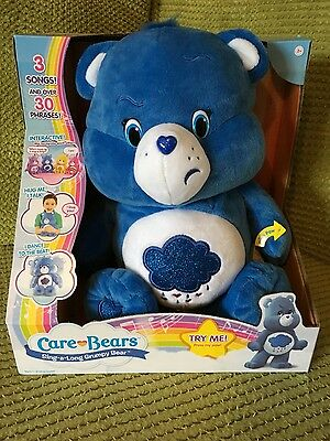 Care bears sing along grumpy bear- Brand new!