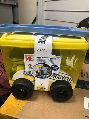 Anker Despicable Me Filled Activity Truck