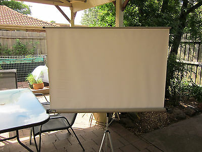 Projector screen  old style