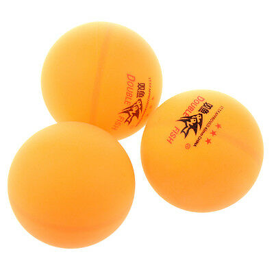 3PCS Double Fish ITTF Approved 3-Stars Table Tennis Ping Pong Ball 40mm for S6E8