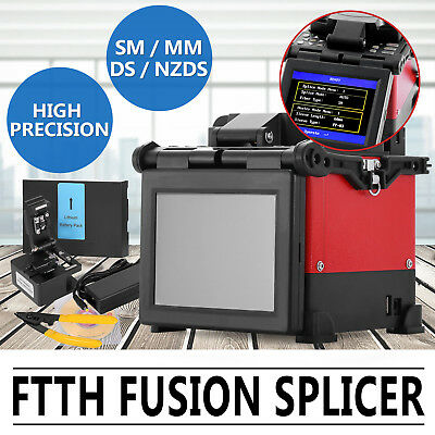 FTTH Fiber Optic Splicing Machine Fusion Splicer Electrodes Instrument JW4108S