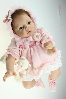 """Simulation baby doll dress girl dress is suitable for the 19.6""""-21.6"""" dolls 002"""
