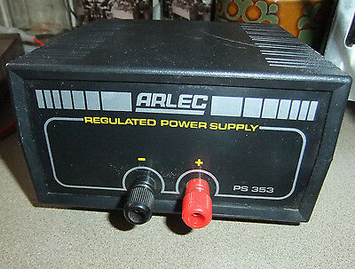 REGULATED POWER SUPPLY, Arlec