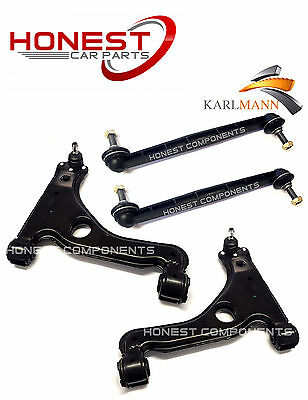 For Vauxhall Astra MK5 H 04-13 Front Lower Suspension Wishbone Arms & Link Bars