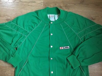 Large, Men's Casuals Vintage/retro Tracksuit Top, Lotto. Made In Italy