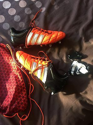 adidas ace 15.1 SG Size 9.5 Orange/Black