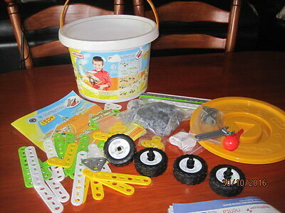 Meccano - Bucket With 150 Pieces& Instructions (0252), And Meccano Extreme (6820