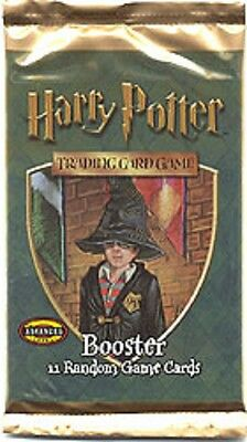 Harry Potter Trading Cards Booster Pack 11 Brand New Cards Wizard 2001 Sealed