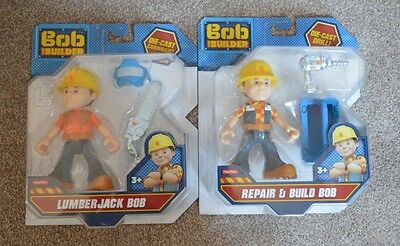 Brand New 2 x  Bob The Builder figures action figures RRP 10.00 EACH