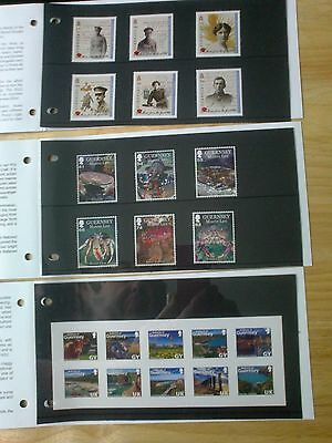 """DEFINITIVE MINT STAMPS GUERNSEY as pictured  """"FREE P-P"""""""