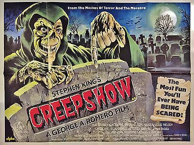 """Creepshow 16"""" x 12"""" Reproduction Movie Poster Photograph"""